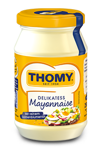 Thomy Delikatess Mayonnaise im Glas