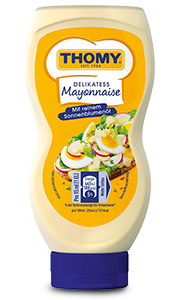 THOMY Delikatess Mayonnaise in der Squeeze Flasche