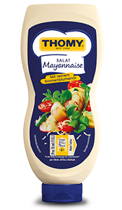 THOMY Salat Mayonnaise in der Squeeze Flasche