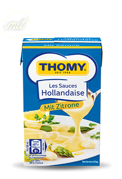 Hollandaise Zitrone Sauce - ein cremiges Les Sauces Produkt von THOMY