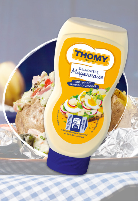 THOMY Delikatess Mayonnaise Squeeze Flasche