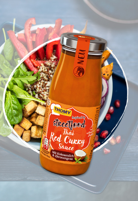 THOMY Thai Red Curry Sauce