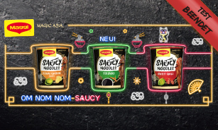 MAGGI Magic Asia SAUCY NOODLES Produkttest