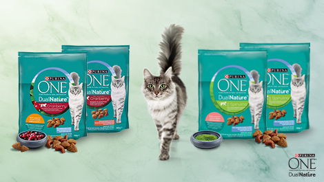 Purina ONE® DualNature™ Produkttest