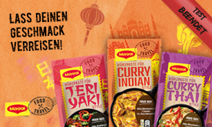 MAGGI Food Travel Würzpasten Produkttest