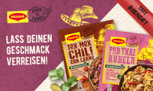 MAGGI Food Travel Fixe Produkttest