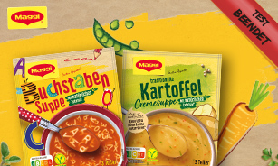 MAGGI Suppen Produkttest