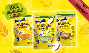 NESQUIK All Natural Porridge Produkttest