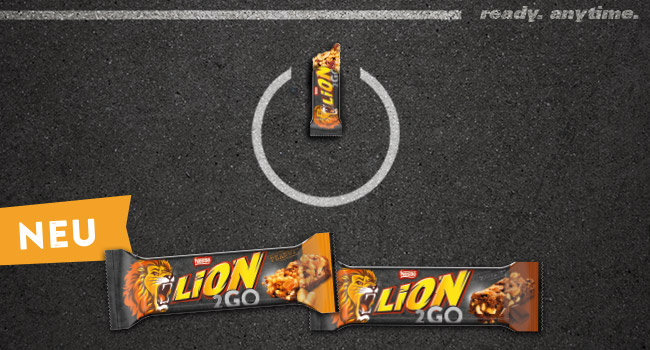 LION® 2GO:Ready. Anytime.