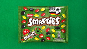 Produktabbildung SMARTIES Hexagonrolle Sonderedition