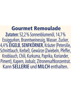 THOMY Gourmet-Remoulade
