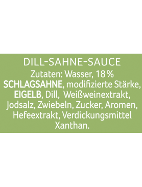 THOMY Les Sauces Dill Sahne-Sauce