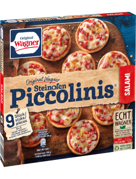 Wagner Pizza Original Piccolinis Salami