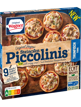 Wagner Pizza Original Piccolinis Thunfisch