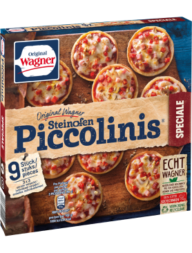 Wagner Pizza Original Piccolinis Speciale