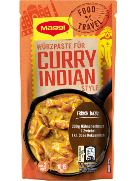 Maggi Food Travel Würzpaste für Curry Indian Style