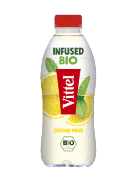 VITTEL Infused Bio Zitrone-Minze PET 0,75l