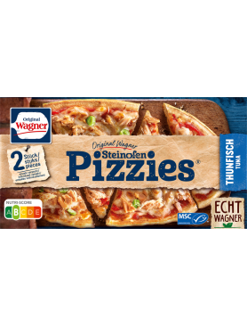 Wagner Pizzies oval Thunfisch
