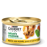 GOURMET Nature's Creations reich an Huhn mit Spinat
