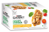 GOURMET Nature's Creations, Huhn & Truthahn 4x85 g